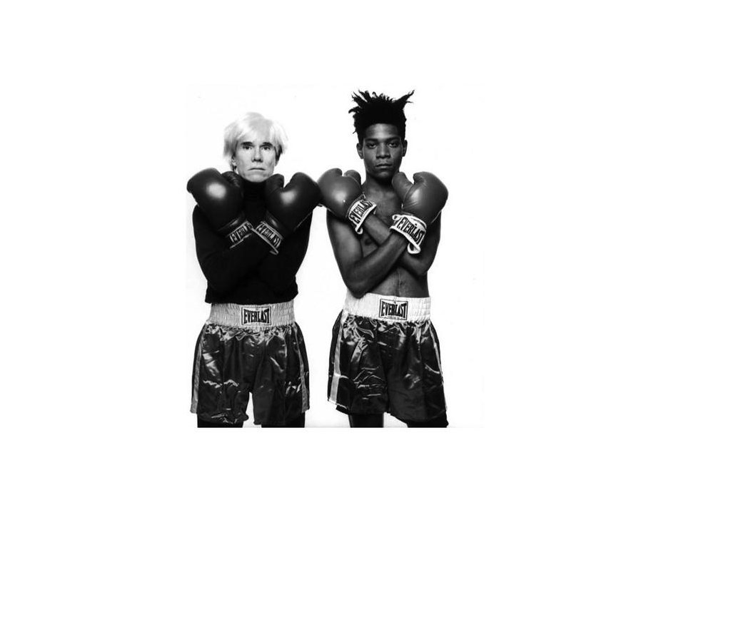 Warhol x Basquiat by Michael Halsband