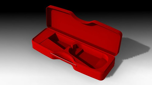 Calder Red Violin Case 4