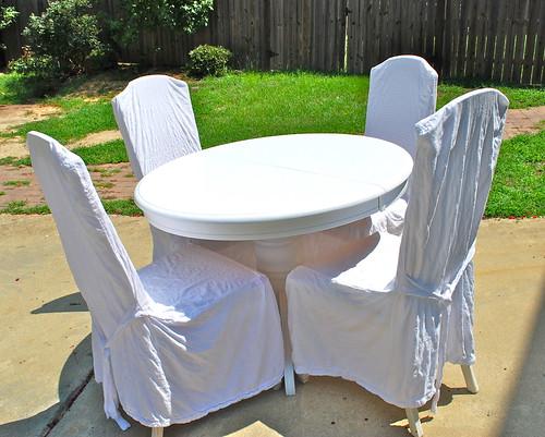 Pedestal Table After