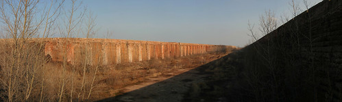 United States Steel South Works Ore Bin Panorama