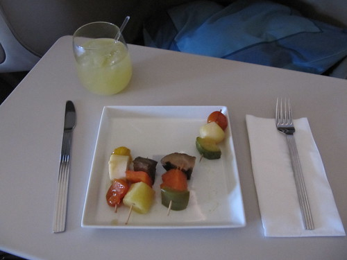 vegan starter singapore airline
