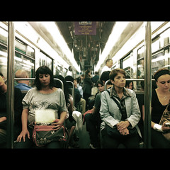Métropolitain {Explore Front Page!} (edwardkb) Tags: paris france train underground tube cs4 ligne4 métropolitain parismétro iphone4 métrodeparis