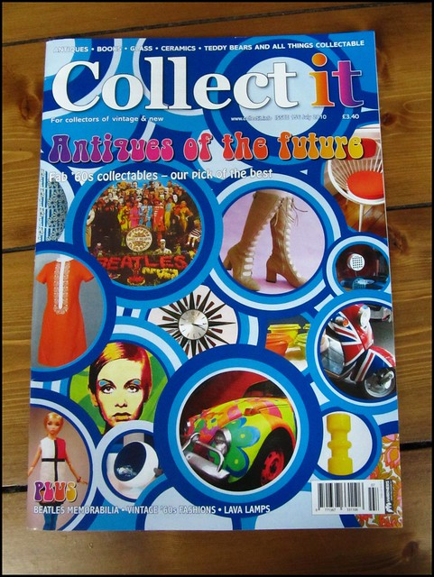 our chair (top right) in Collect It magazine