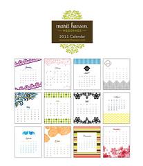 2011 Desktop Calendars!