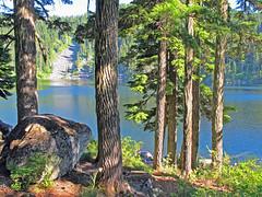 Mason Lake and Boulder