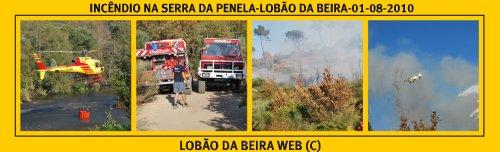 FOGO FLORESTAL-SERRA DA PENELA