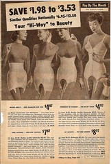 montgomery ward summer 1959 catalog (CapricornOneVintage) Tags: woman fashion vintage underwear ephemera departmentstore 1950s catalog wards 1959 montgomeryward garters girdle monkeywards