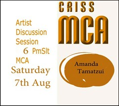 Criss MCA : Artist Discussion Amanda Tamatzui