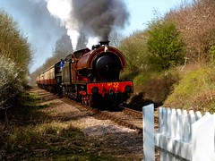 Nene Valley Railway (saxonfenken) Tags: train smoke engine rail steam superhero thumbsup storybook peterborough 142 perpetual ferrymeadows bigmomma gamewinner challengeyou challengeyouwinner challengewinner 15challengeswinner friendlychallenges thechallengefactory yourock1stplace agcgwinner herowinner storybookwinner pregamesweepwinner thechallengefactoryunam pregameduelwinner 142trans