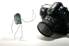 A salute to digital photography (ICT_photo) Tags: film digital photography nikon fuji finger salute thefinger d200 thebird ictphoto ianthomasguelphontario