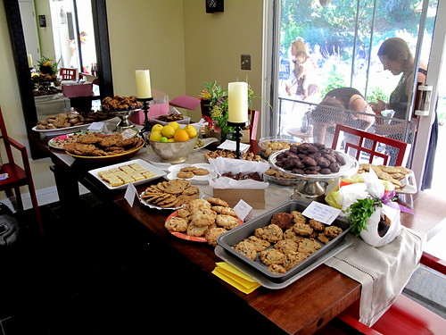 The Community Cookie Table