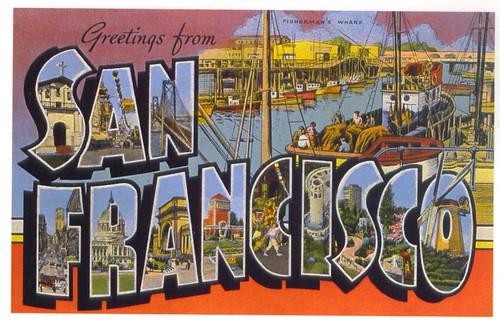 post card san fran
