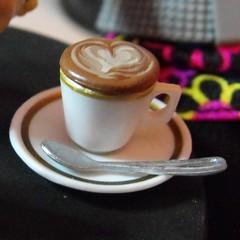 I 'heart' coffee (DLSarmywife--DLightful Designs) Tags: barbie rement wizardsofwaverlyplace alexrusso disneydolls 16thscaleaccessories