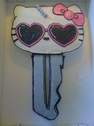 Hello Kitty Housewarming Cake
