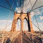 Brooklyn Bridge Sunset III