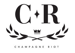 Champagne Riot Logo (TobiasMik  WhatWeDo) Tags: leaves logo graphicdesign riot champagne crown