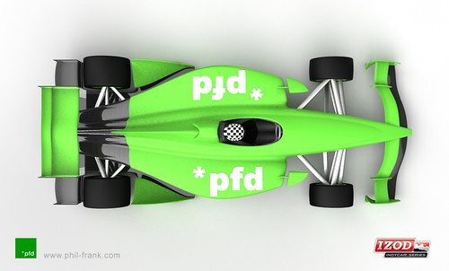 2012 Fan Design by Phil Frank - overhead view