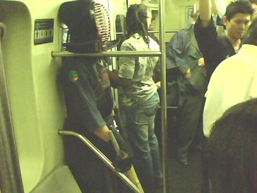 Samurais no metrô