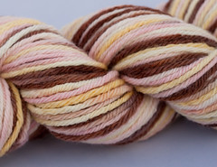 Threshing Floor Love on Spirit Merino - 4 oz (...a time to dye)