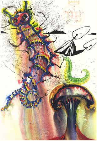 05 Advice From a Caterpillar by Dalí