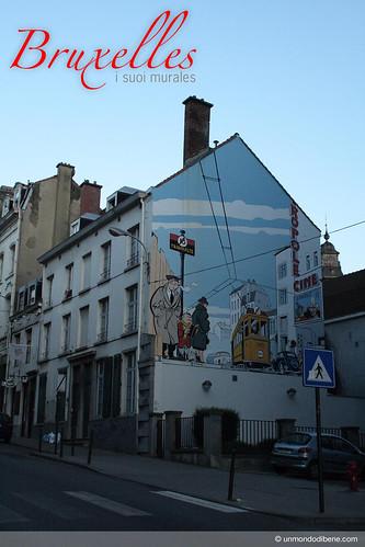 Bruxelles e i suoi murales