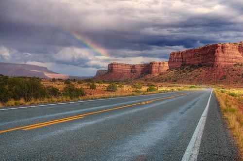 Utah State Road 95 Rainbow