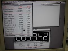 Mac LCII benchmark