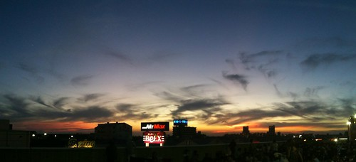 美しすぎる夕焼け