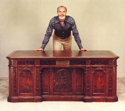 Robert Whitley- Resolute desk restoration