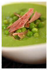 pea soup with smoked ham hock© by Haalo