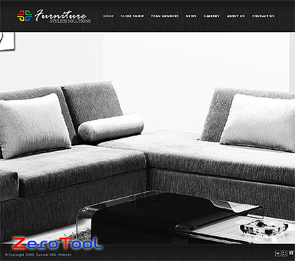 FlashMint 2663 rip Stylish furniture flash XML full website