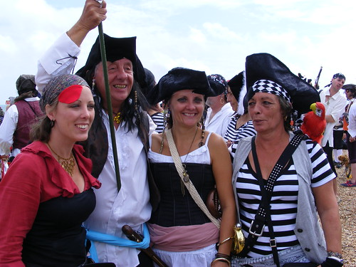 Pirate Day in Hastings 2010