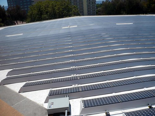 solar panals on top of TheTech