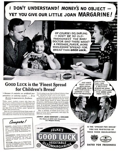 Good Luck Margarine Life Nov 15 1937