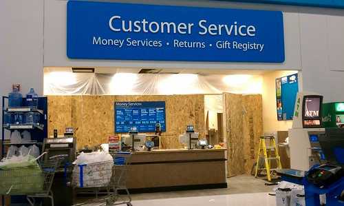 Wal-Mart - Fort Dodge, Iowa - Almost Done Courtesy Desk - a photo on