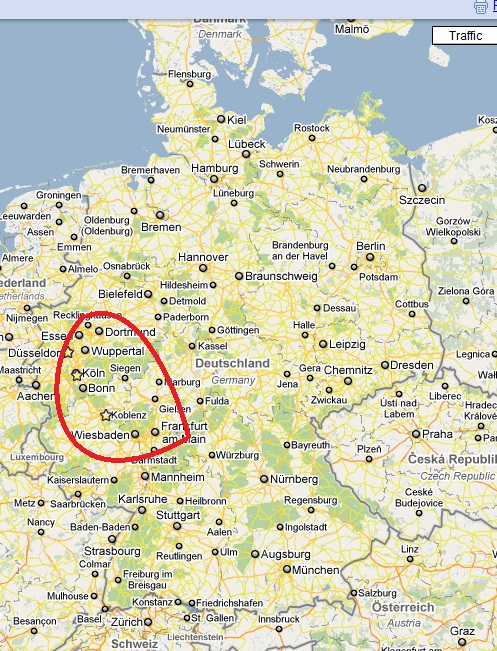 GERMANY Cities Towns Landscapes And Roads SkyscraperCity - Germany map with cities