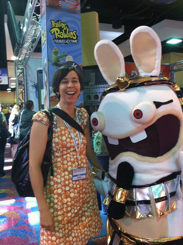 With Video Game Rabbit