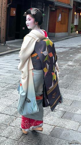 Geiko in Kyoto