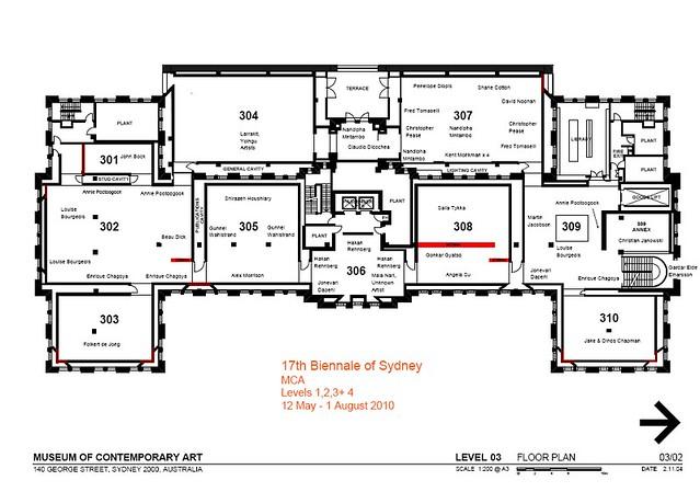 sydney biennale wallbuilding floor plan