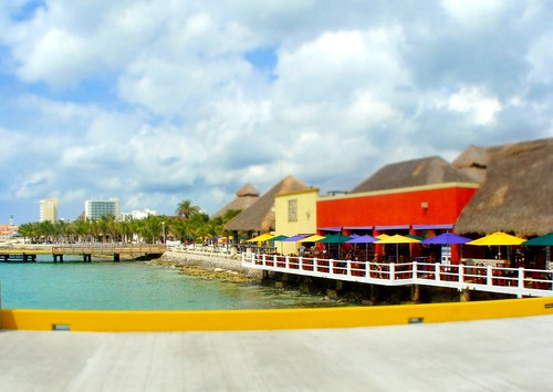 tilt shift cozumel