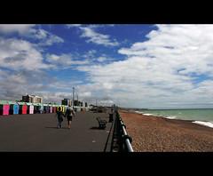 160/365 [a perfect summer day] (Nat Nunn) Tags: summer beach seaside 365 beachhuts brightonandhove project365