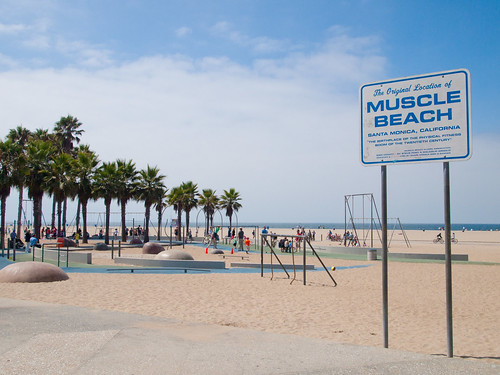 Muscle Beach by tylerkaraszewski, on Flickr