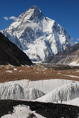 K2 (Raja Islam) Tags: china trip pakistan mountain snow mountains high tour adventure second k2 karakoram 2010 basecamp 8000 higest chogori altitute savagemountain godwinausten gilgitbaltistan