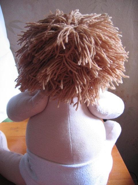 Waldorf Doll - with hair and nappy