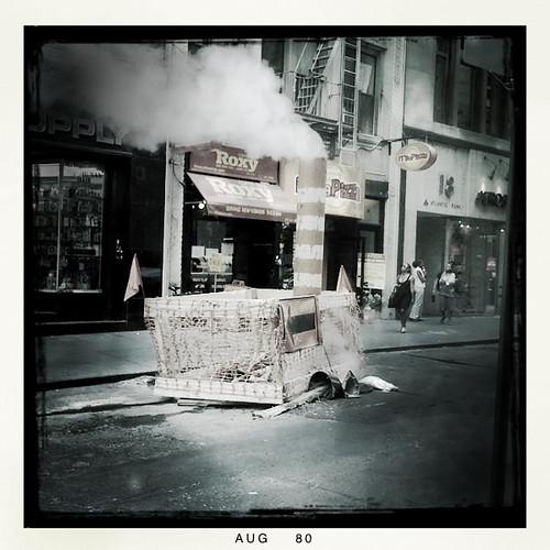 venting steam