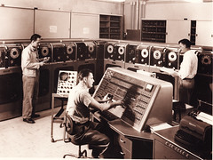 UNIVAC console (Lawrence Livermore National Laboratory (LLNL)) Tags: computer computing supercomputer univac hpc supercomputing llnl lawrencelivermore