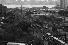 Hoboken Railyard from the Heights (WK Imagery) Tags: city railroad urban monochrome jerseycity nj trains transportation gothamist hoboken bing wkimagery bywkuberski
