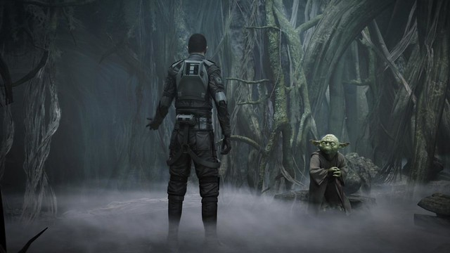 Star Wars Force Unleashed 2 swamp