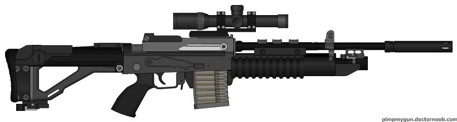 Welford Marksman Rifle [scoped]