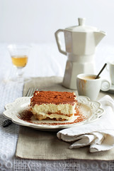 Tiramisu (StuderV) Tags: food coffee dessert italian nikon sweet cream tiramisu cocoa mascarpone amaretto foodphotography d80 foodstyling tabletopstyling